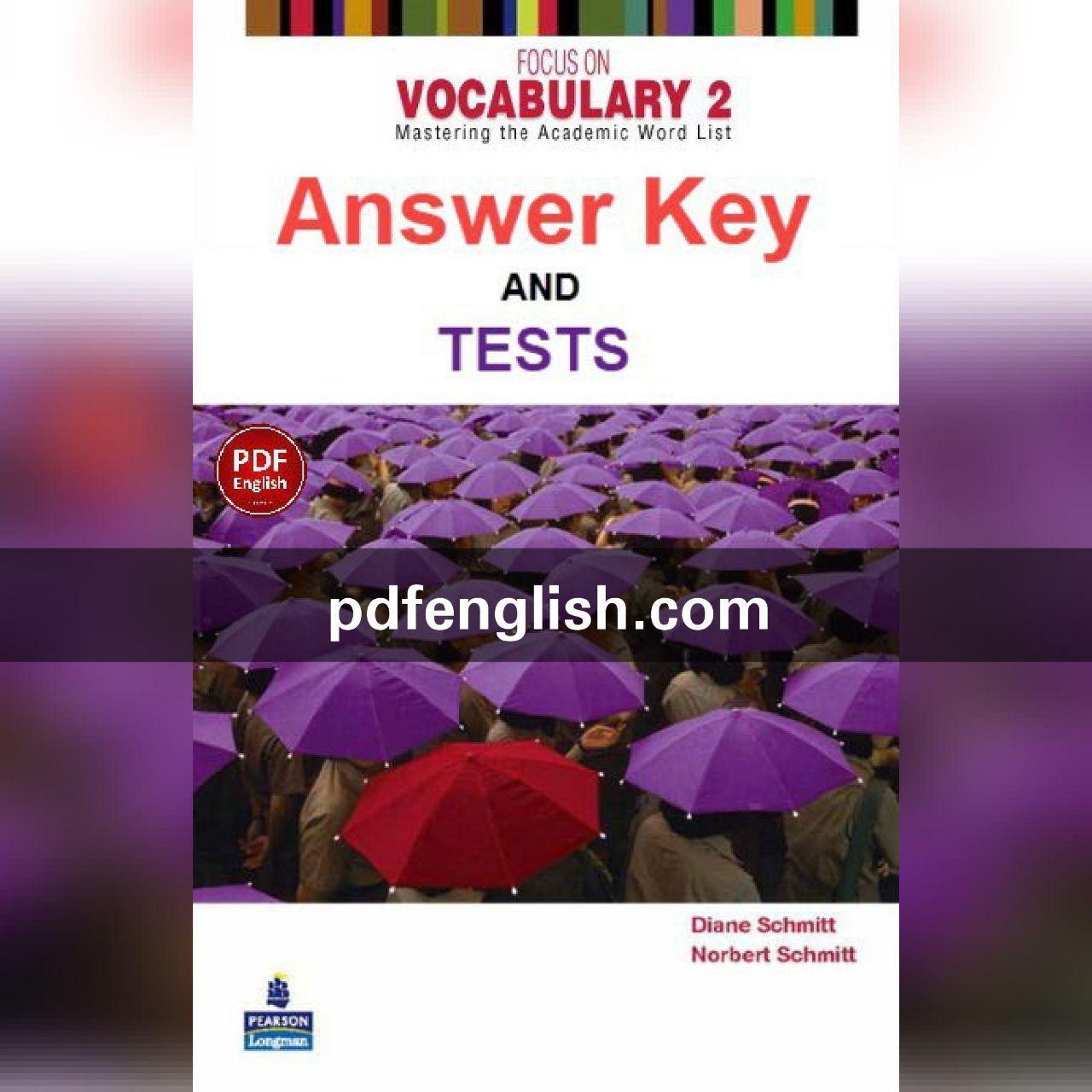 پاسخ کتاب Focus on Vocabulary 2