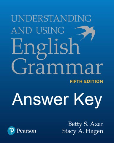 دانلود پاسخ Understanding and Using English Grammar