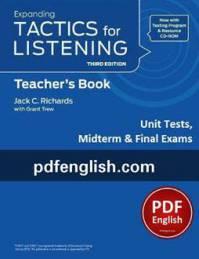 کتاب آزمونهای Expanding Tactics for Listening