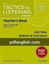 کتاب آزمونهای Basic Tactics for Listening