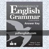 دانلود پاسخ Fundamentals of English Grammar