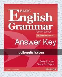 دانلود پاسخ Basic English Grammar