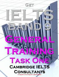 دانلود کتاب  Get IELTS band 9 GENERAL TRAINING WRITING TASK 1