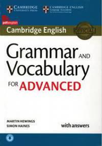 کتاب Grammar and Vocabulary for Advanced