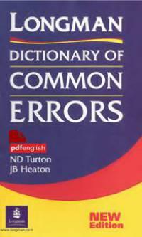کتابLongman Dictionary of Common Errors