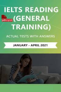کتاب IELTS Reading (General Training) Actual Tests ژانویه تا آوریل 2021