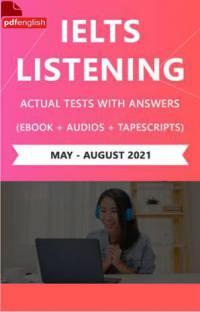 کتاب IELTS Listening Actual Tests می تا آگوست2021