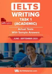 کتاب IELTS Writing Task 1 (Academic) Actual Tests ژوئن تا سپتامبر 2021
