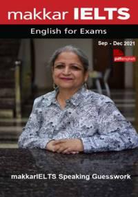 کتاب makkar IELTS Speaking Guesswork سپتامبر تا دسامبر 2021