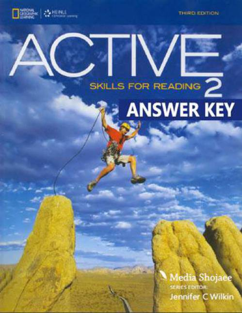 پاسخ کتاب دوم Active Skills for Reading