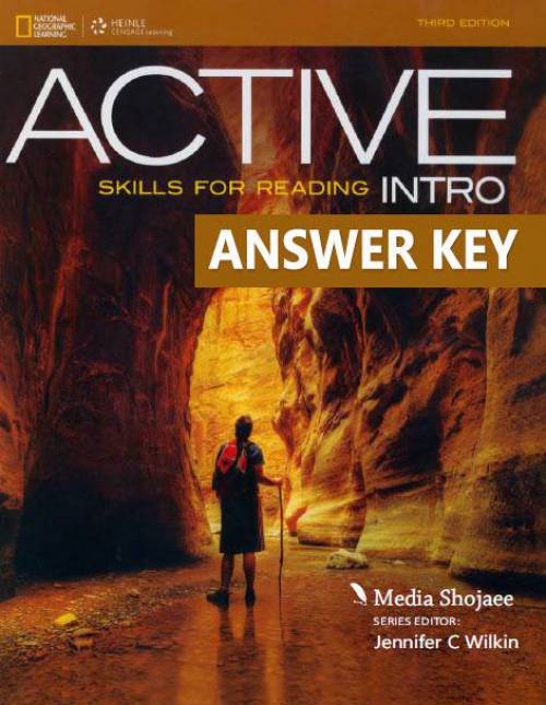 پاسخ کتاب اینترو Active Skills for Reading