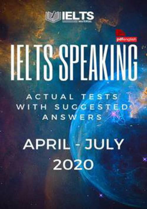 کتاب IELTS Speaking Actual Tests آوریل تا جولای 2020