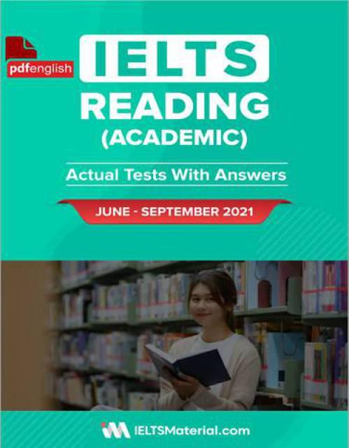 کتاب IELTS Reading Actual Tests ژوئن تا سپتامبر 2021